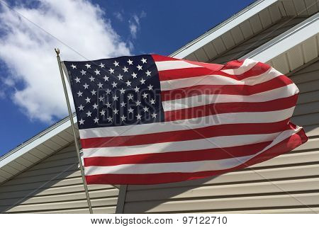 US Flag outdoor