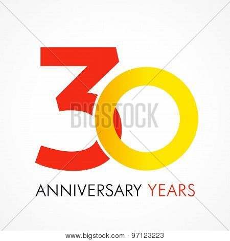 30 circle anniversary logo