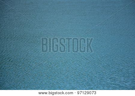 Photo of the blue clean water