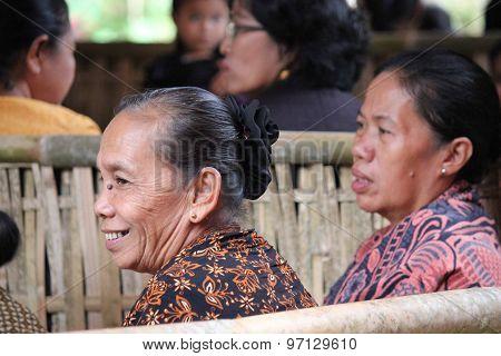 Senior Indonesian Woman Smiling