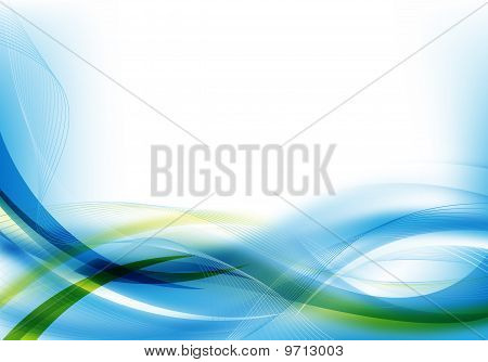 Abstract Blue/green Design