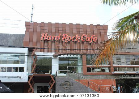 Esternal View Of Hard Rock Cafe
