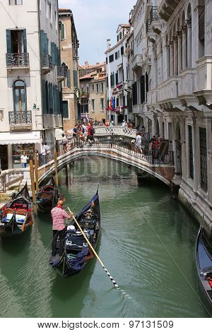 Bridges In Venice Italy