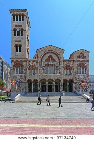 Cathedral In Piraeus