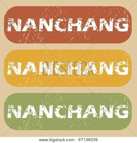 Vintage Nanchang stamp set