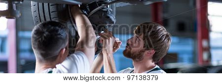 Two Mechanics In Work