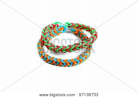 Bracelets Made With Rubber Bands