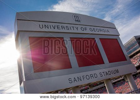 Sanford Satdium Sign
