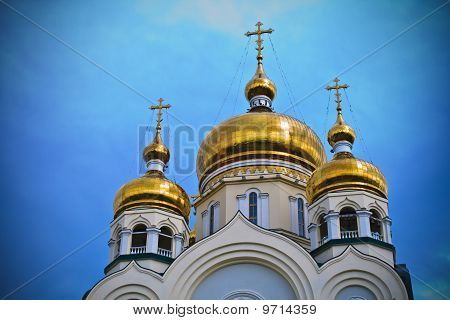 Cathedral in Khabarovsk, Russia