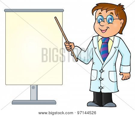 Doctor theme image 2 - eps10 vector illustration.