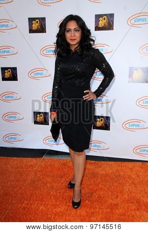 LOS ANGELES - JUN 6:  Parminder Nagra at the Lupus LA Orange Ball  at the Fox Studios on June 6, 2015 in Century City, CA