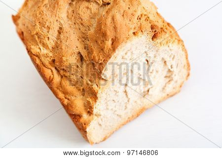 Homemade Bread With Semolina