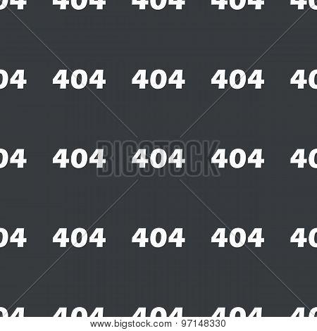 Straight black error 404 pattern