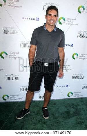 LOS ANGELES - JUN 8:  Galen Gering at the SAG Foundations 30TH Anniversary LA Golf Classi at the Lakeside Golf Club on June 8, 2015 in Toluca Lake, CA