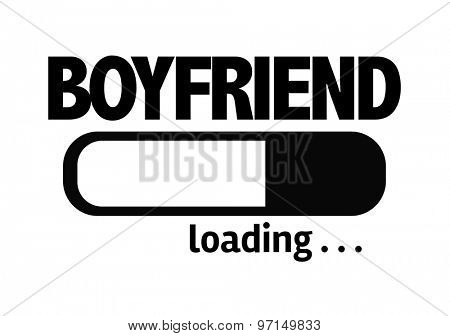 Progress Bar Loading with the text: Boyfriend
