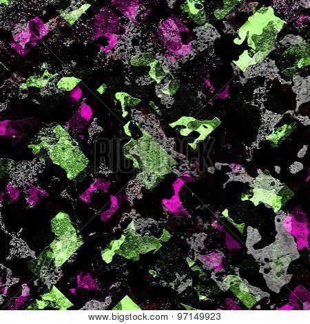Vivid Abstract Grunge Texture