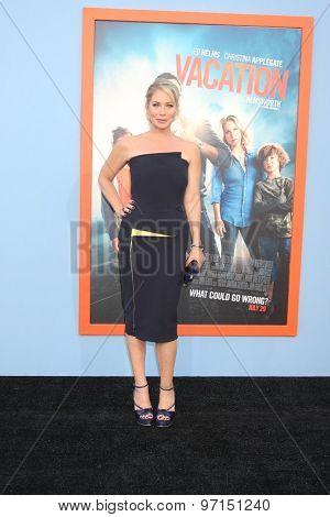LOS ANGELES - JUL 27:  Christina Applegate at the