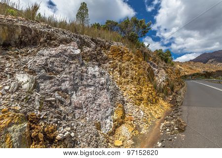 Queenstown minerals rocks