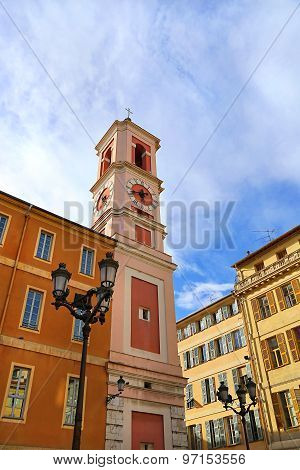 Church In The Old City Of Nice, French Riviera