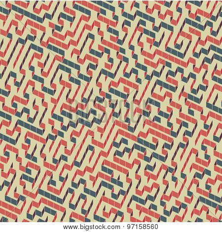 Maze. Vector Illustration Of Labyrinth. Can Be Used For Wallpaper, Background, Book Cover.