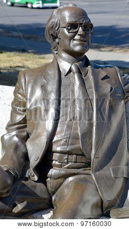 Statue of Michael Collard Williams