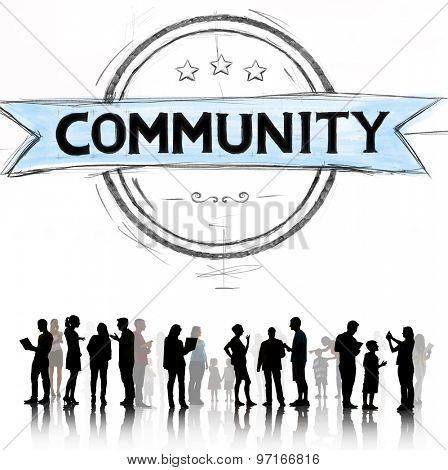 Community Citizen Diversity Connection Communication Concept