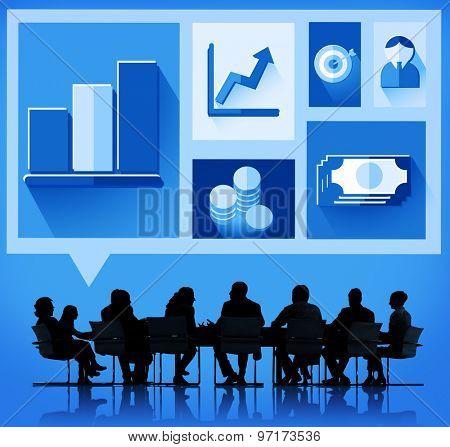 Business Growth Success Finance Economy Concept