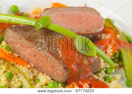 Two Pieces Of Lamb