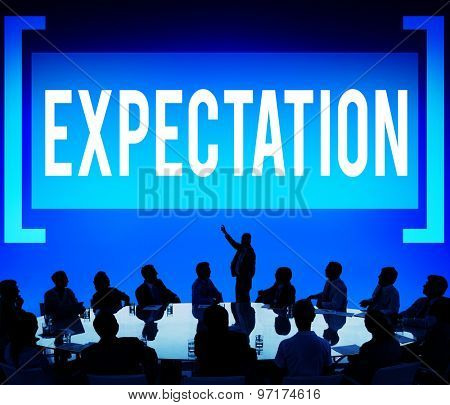 Expectation Anticipation Aspiration Goal Concept