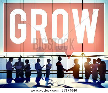 Grow Growth Development Improvement Increase Concept