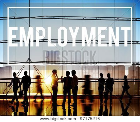 Employment Recruitment Human Resources Hiring Concept