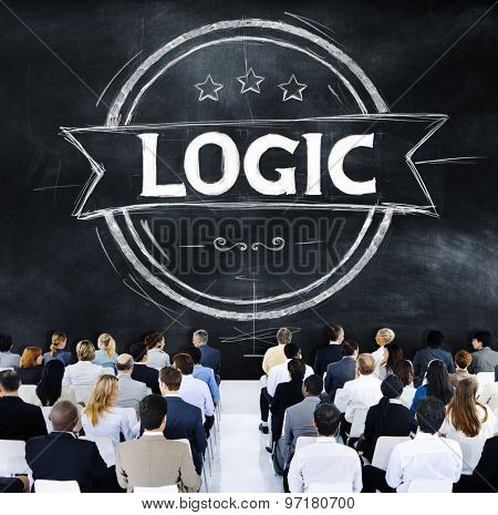 Logic Reasonable Critical Thinking Concept