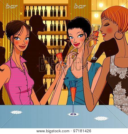 Women's Cocktail Bar
