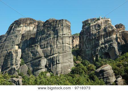 Holy Monastery Of Great Meteoron,meteora,greece,balkans