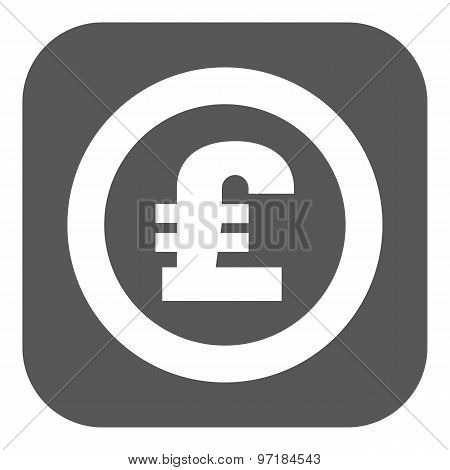 The pound sterling icon. Cash and money, wealth, payment symbol. Flat