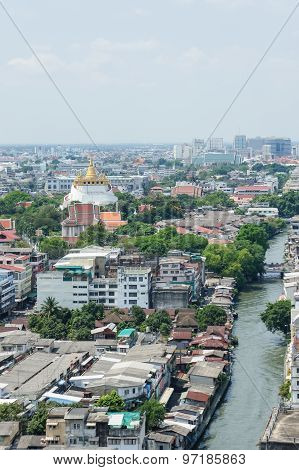 Bangkok - high angle view