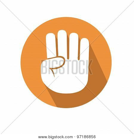 Four Fingers Gesture
