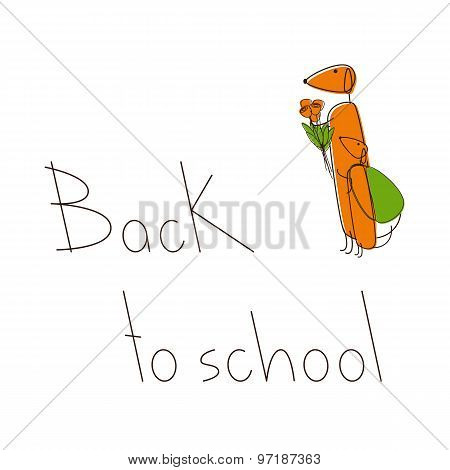 Back To School With Dachshunds
