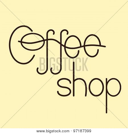 Coffee Shop Logo Template