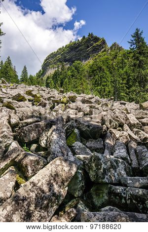 Mountain Landscape With Detunatele