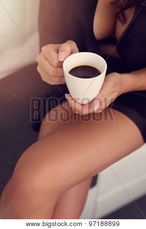 Invigorating Morning Cup Of Coffee