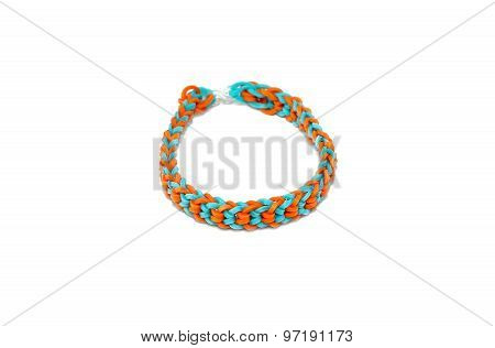 Bracelet Made With Rubber Bands