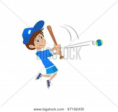 hitting ball