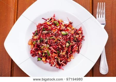 Salad With Beetroot And Celery