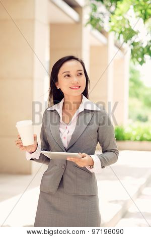 Vietnamese Business Lady