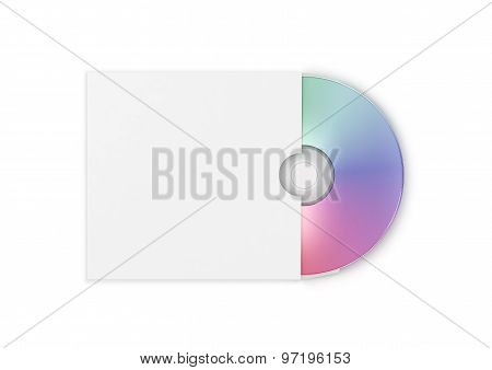 Compact Disk  In An Envelope