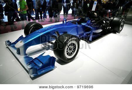 Lotus Exos Type 125 F1 At Paris Motor Show