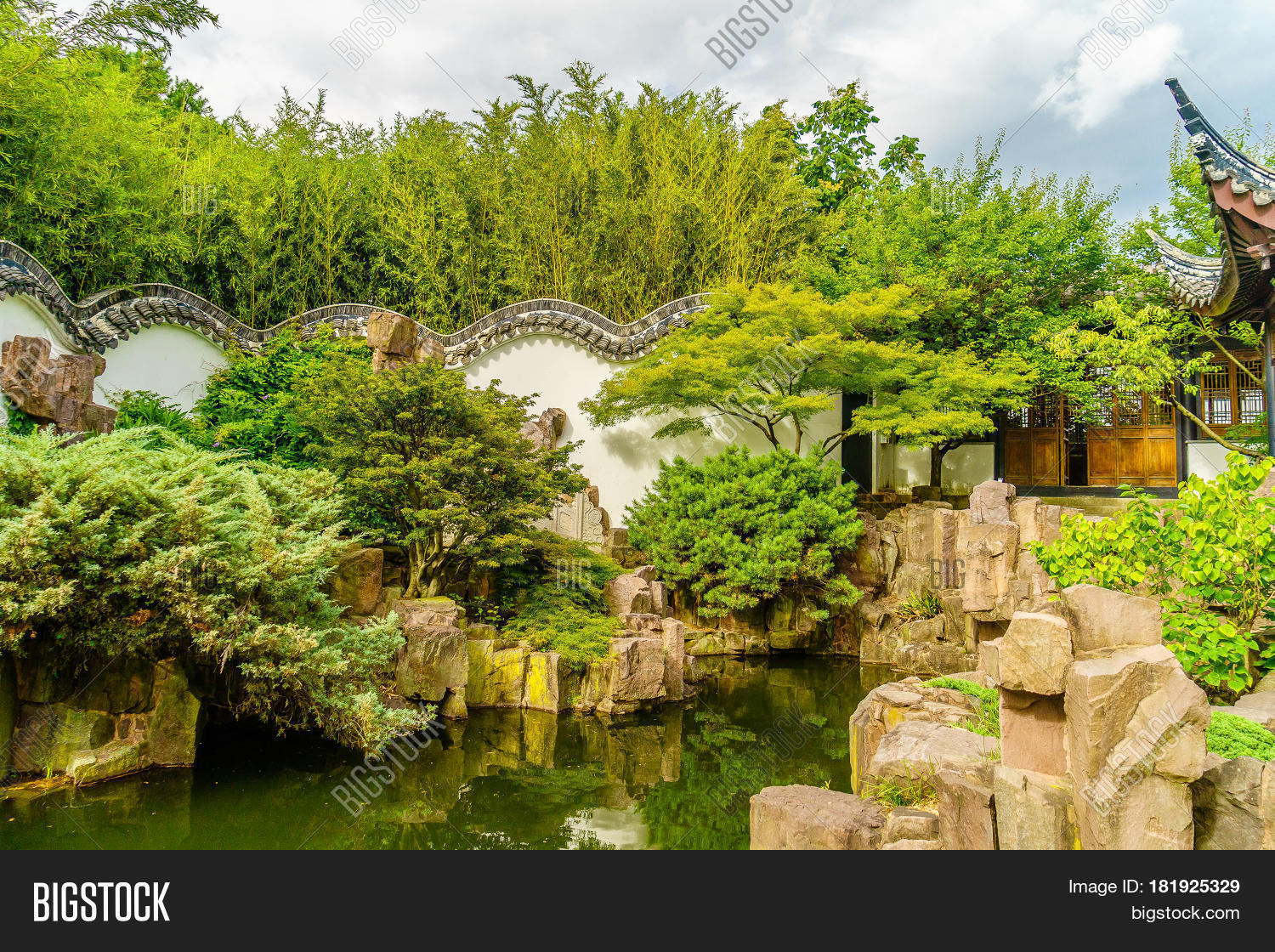 New York Chinese Scholar 39 S Garden Staten Island Ny Stock Photo Stock Images Bigstock