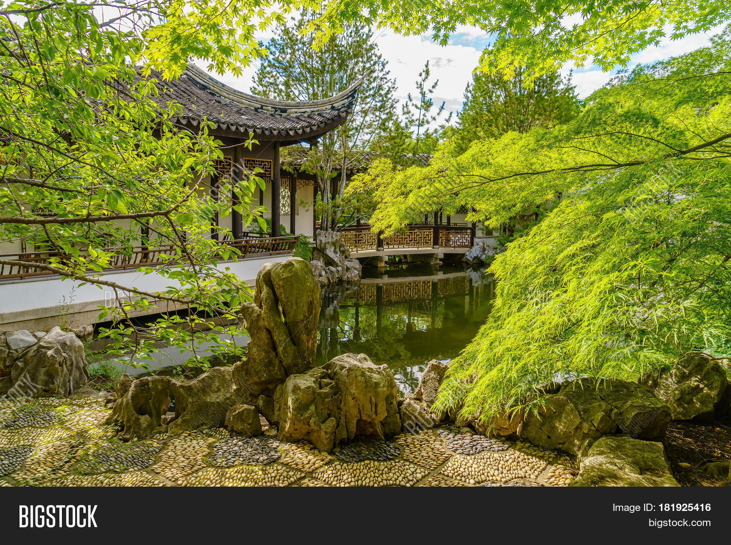 New york chinese scholar 39 s garden staten island ny stock photo stock images bigstock for New york chinese scholar s garden