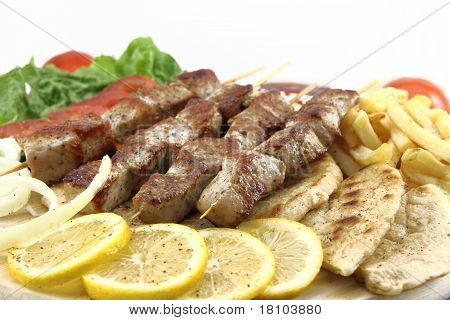 Greek Skewer (souvlaki)